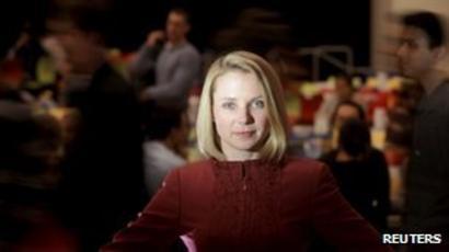 Profile Marissa Mayer To Inject Pizzazz Into Yahoo Bbc News
