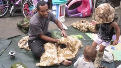 Fijian Born Soldier Isimeli Baleiwai Fights To Stay In Uk Bbc News