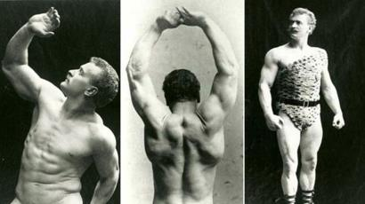 Eugen Sandow: The man with the perfect body - BBC News