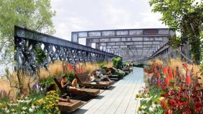 Manchesters Plans For Hanging Gardens On Disused Viaduct