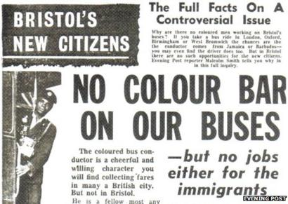 What Was Behind The Bristol Bus Boycott Bbc News