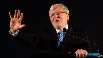 Profile Kevin Rudd Bbc News