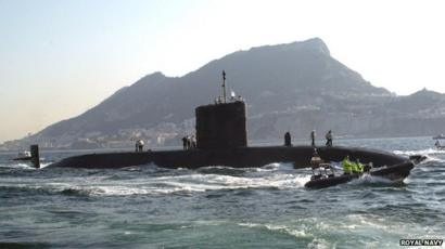 Nuclear submarine HMS Tireless refused United Arab Emirates