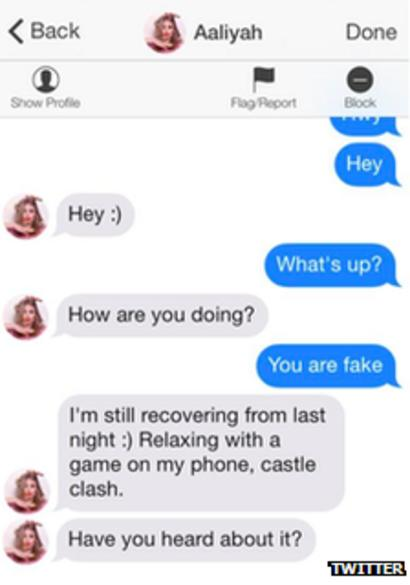 fake phone number tinder