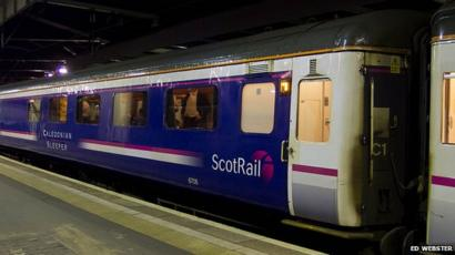 Serco Signs Gb Railfreight To Run Scots Sleeper Services