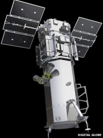 US lifts restrictions on more detailed satellite images - BBC News