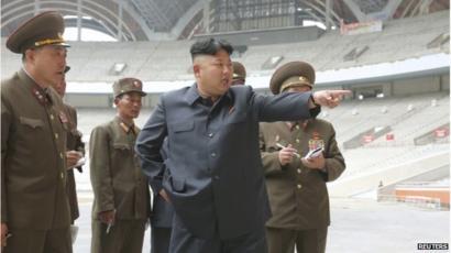 North Korea Threatens War On Us Over Kim Jong Un Movie Bbc News