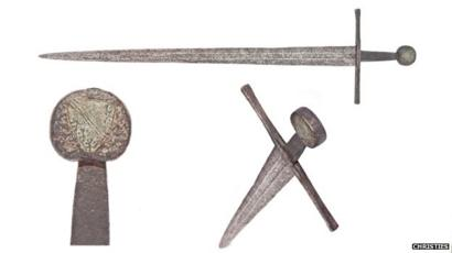 Battle of Hastings sword' fails to sell at auction - BBC News