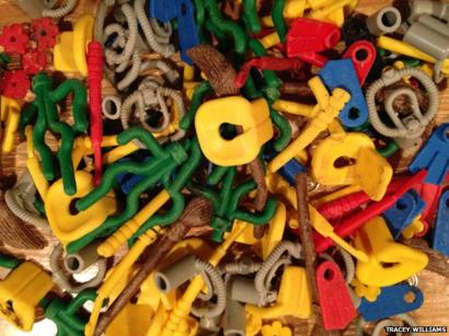 LEGO Lot of 10 Dark Green Sea Grass