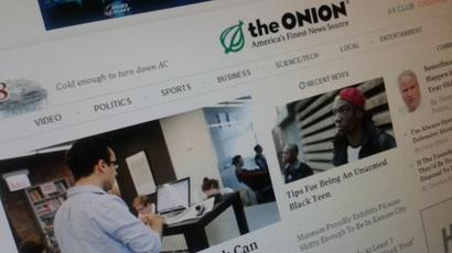 Facebook Tags The Onion Satire In News Feeds Bbc News
