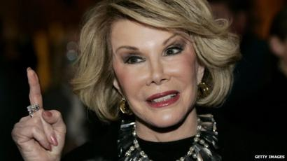 In quotes: Joan Rivers - BBC News