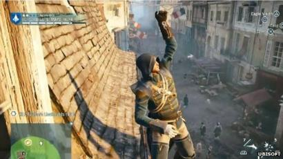 Assassin S Creed Unity Criticised For Widespread Glitches Bbc News