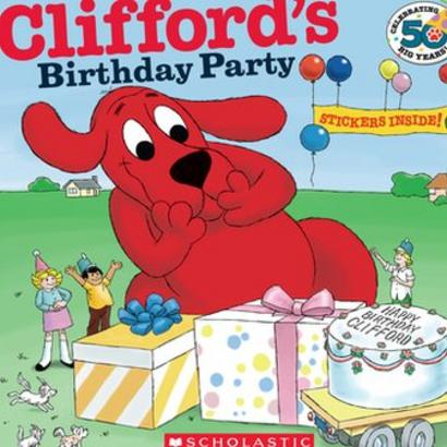 Surprising Clifford The Big Red Dog Creator Norman Bridwell Dies Aged 86 Personalised Birthday Cards Petedlily Jamesorg
