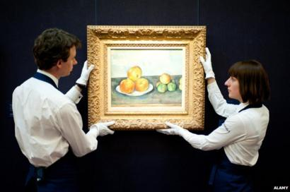 foto de A Point of View: How do we know real art when we see it? - BBC News