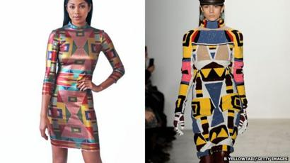 Bbctrending Fashion Week Controversy Over Native Design Bbc News