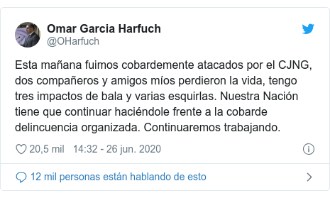 Omar García Harfuch: el secretario de Seguridad de Ciudad de ...
