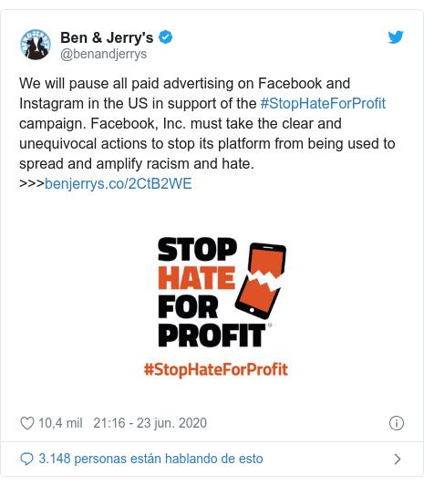 Facebook: qué grandes empresas se han sumado al boicot a la red ...