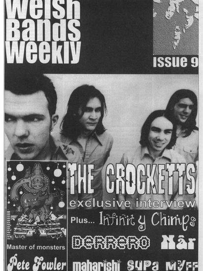 Un o rifynnau olaf Welsh Bands Weekly