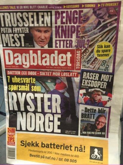 Dagbladet newspaper