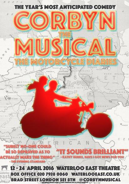 Corbyn the Musical poster