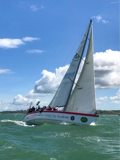 Scaramouche at Fastnet