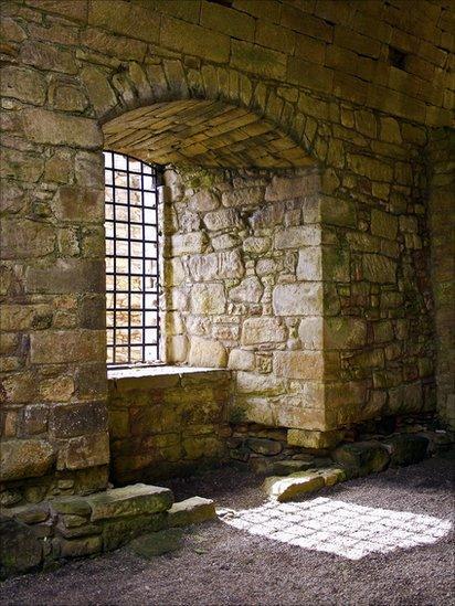 Window at Craignethan Castle