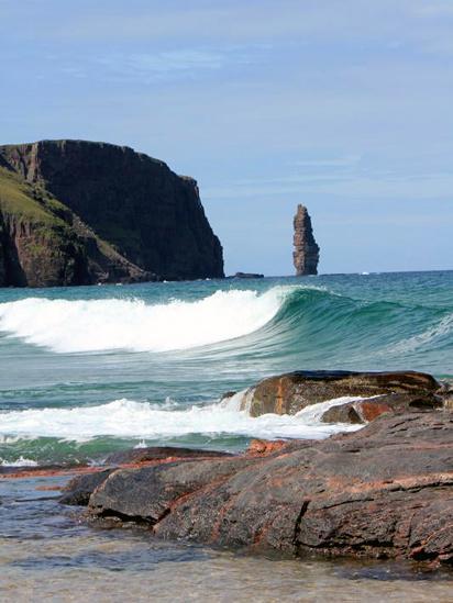 Am Buachaille sea stack