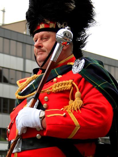 Parade leader
