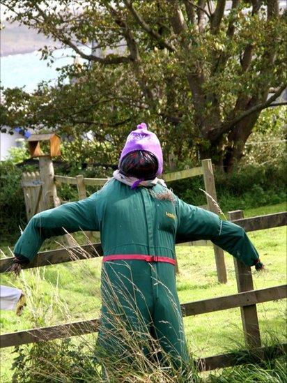 Scarecrow on Isle of Iona