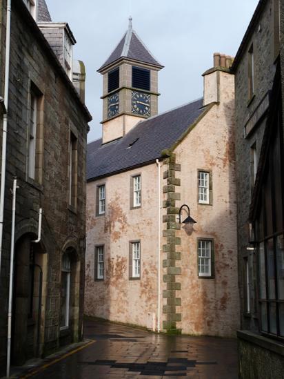 RNLI building in Lerwick