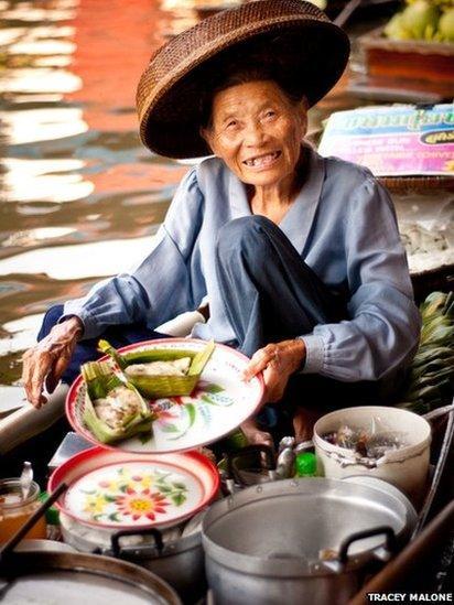 Rice seller