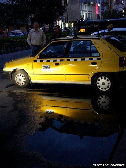 Taxi in Prague