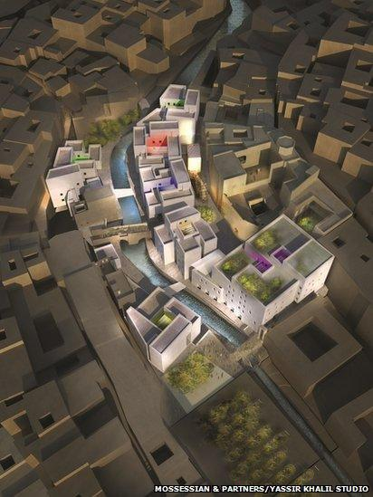 Place Lalla Yeddouna concept design