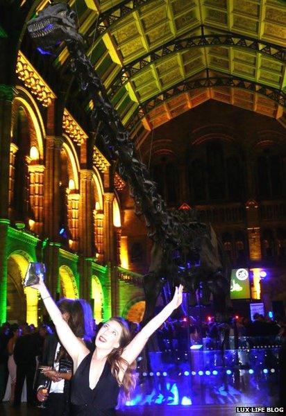 Dippy at the Country Life Grand Ball, 2014. Photo: Catherine Lux