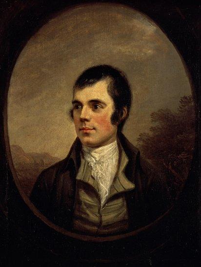 Robert Burns (1787), by Alexander Nasmyth