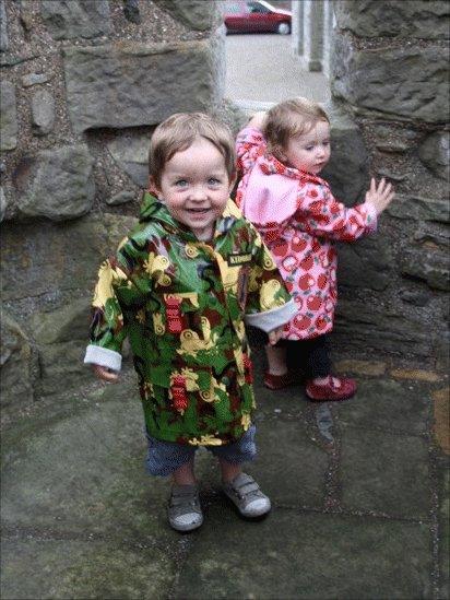 Leon and Zara at Blackness Castle