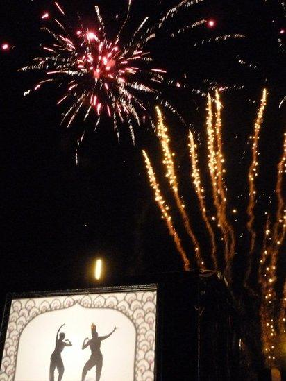 Fireworks over Edinburgh