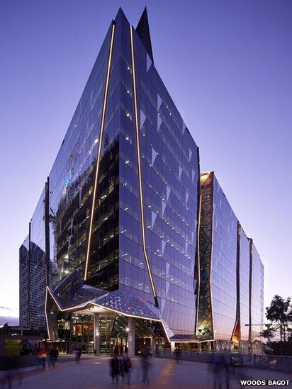 National Australia Bank, 700 Bourke St, Melbourne