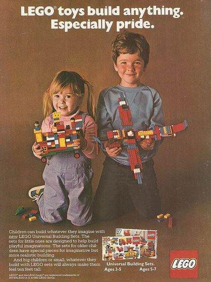 An early Lego advert