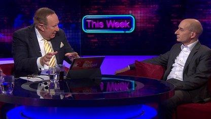 Andrew Neil and Andrew Adonis