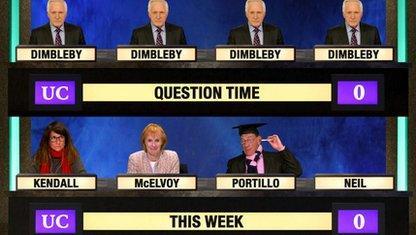 University Challenge meets This Week