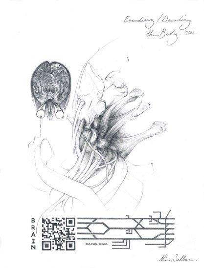 Encoding-Decoding the Body by Nina Sellars