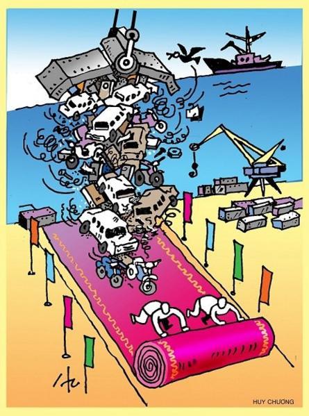 Việt Nam - nguy cơ thành bãi rác toàn cầu