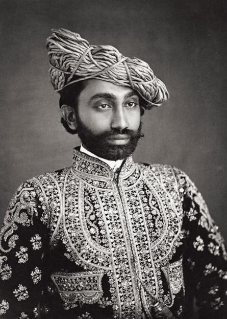 A portrait of H.H The Raja Sahib of Liniri