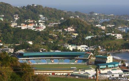 St Vincent's Arnos Vale cricket ground