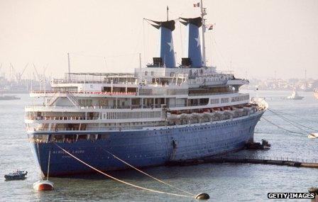 Cruise ship Achille Lauro