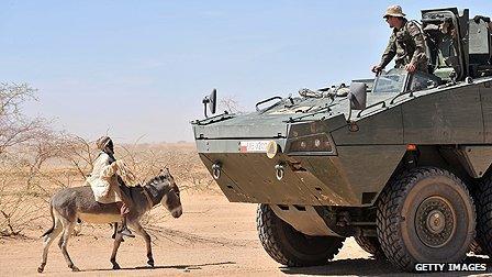 Peacekeeper in Chad