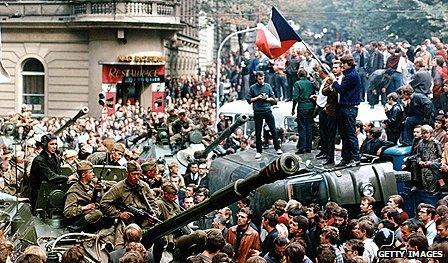 Prague Spring demonstrations