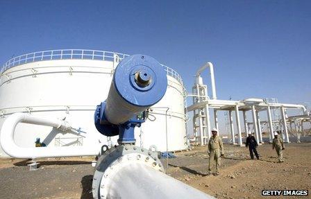 Oilfield in Iraqi Kurdistan