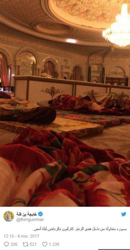 Yadda otel ya koma gidan yarin ministocin Saudiyya - BBC